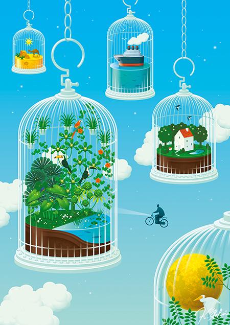 Birdcage world