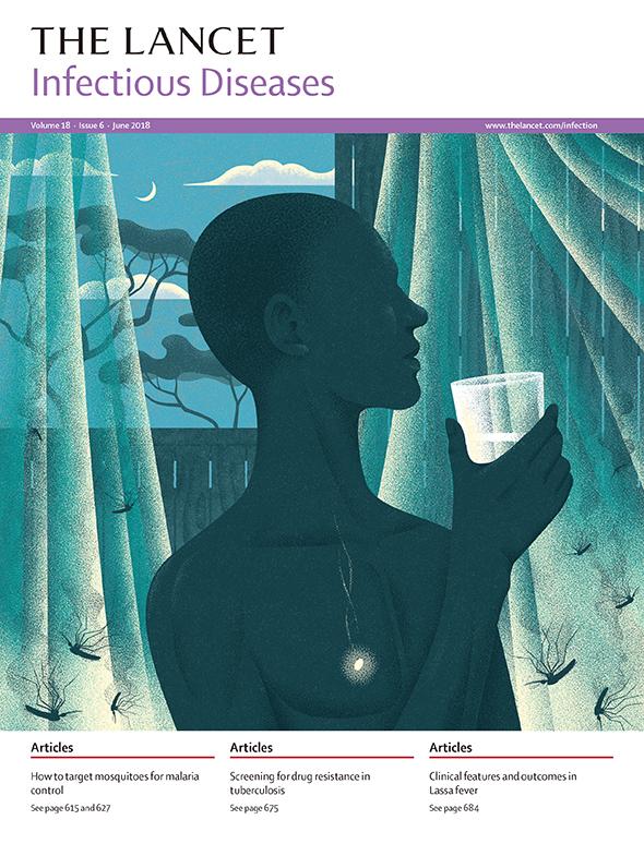 THE LANCET Infectious Diseases June issue | Kouzou Sakai Illustration